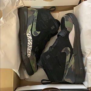 New Jordan Legacy 312 Black Camo Green Nike kids